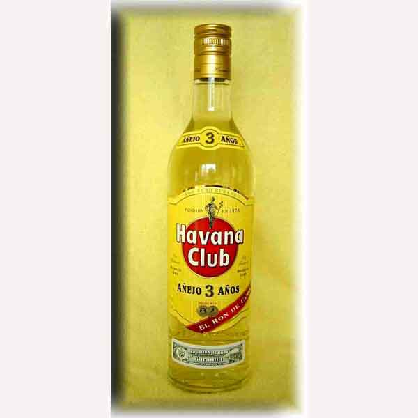 Havana Club 3 Years Old Dark